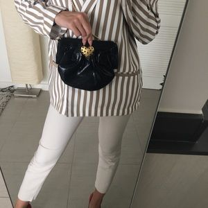 Zara Bags - Zara faux leather crossbody bag.